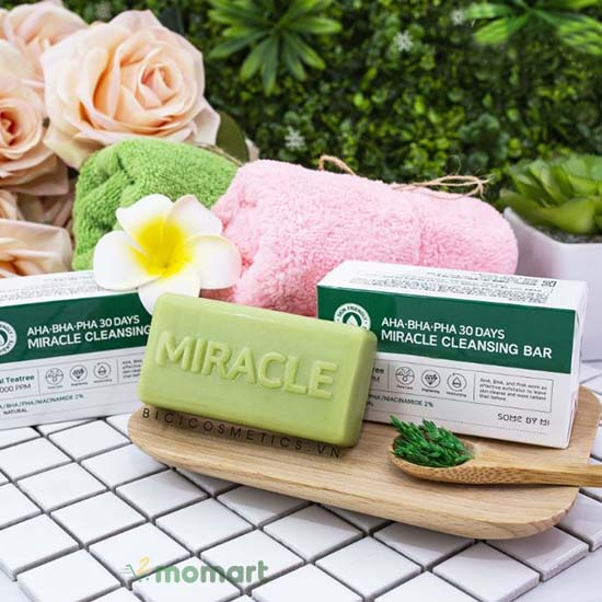 Miracle AHA BHA PHA 30 days bar hiện nay