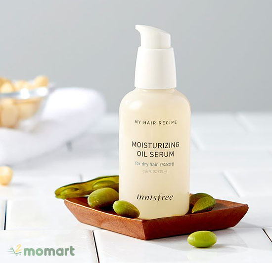 Innisfree My Hair Recipe Moisturizing Oil Serum giúp tóc bóng khỏe