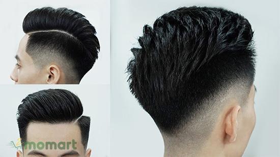 Kiểu tóc undercut được hầu hết nam giới Việt Nam ưa chuộng thực hiện
