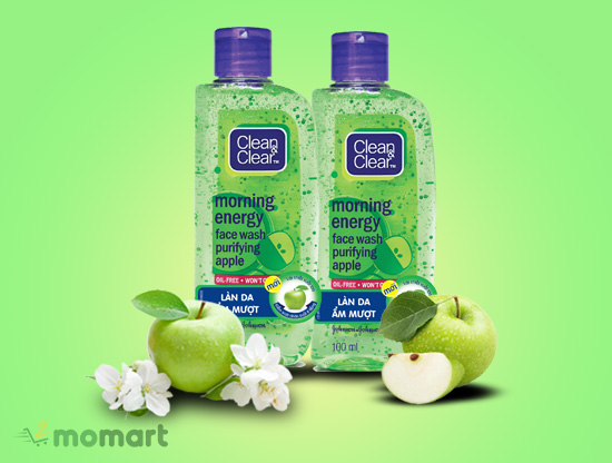 Sữa rửa mặt Clean & Clear Morning Energy Apple