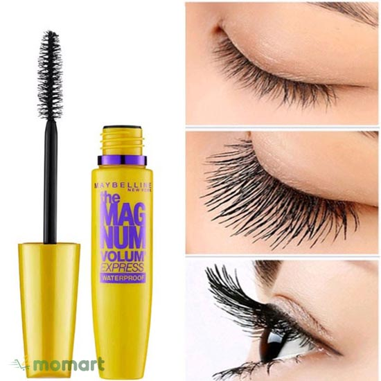 Mascara Maybelline The Magnum cho mi thưa