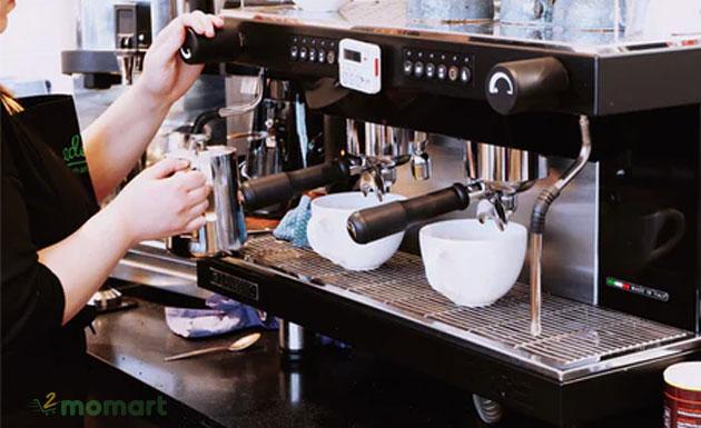Cách sử dụng máy pha cà phê hiệu quả nhất