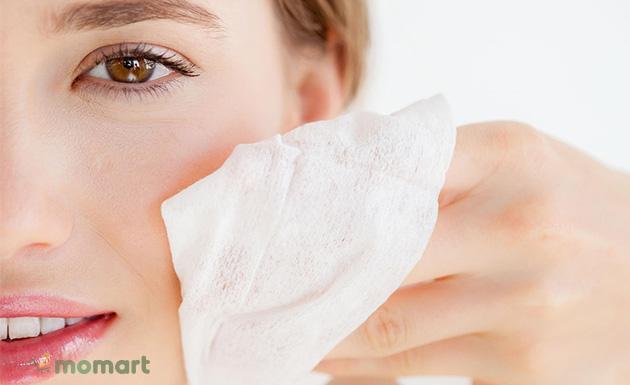 Sử dụng tẩy trang cho từng loại da