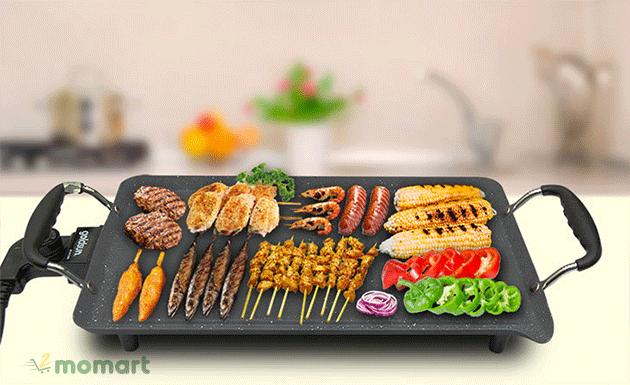 Cách dùng bếp nướng điện