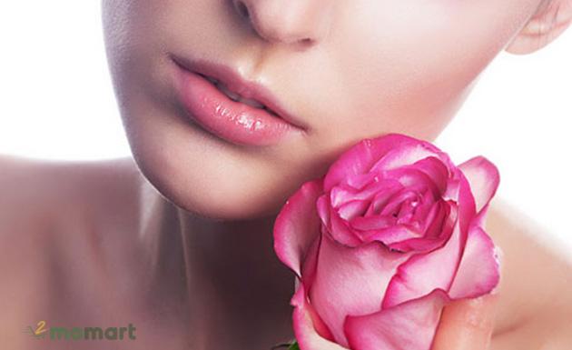 Cách làm môi hồng ngay lập tức nhờ nguyên liệu tự nhiên