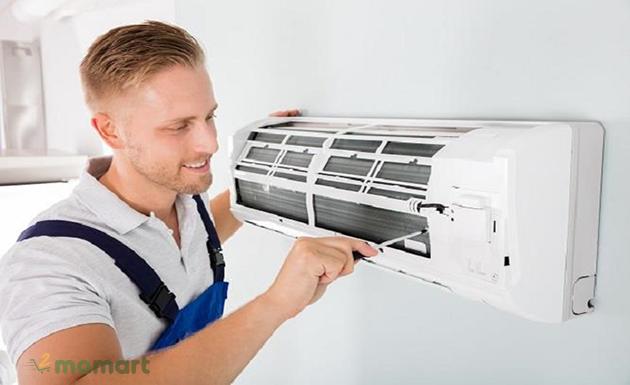 Vệ sinh máy lạnh nhanh chóng ngay tại nhà bạn lưu lại ngay