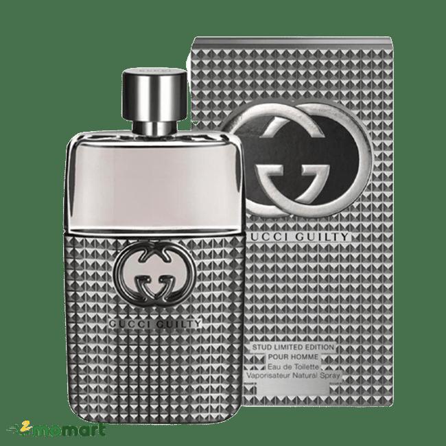 Dòng nước hoa nam Gucci Guilty chai màu bạc