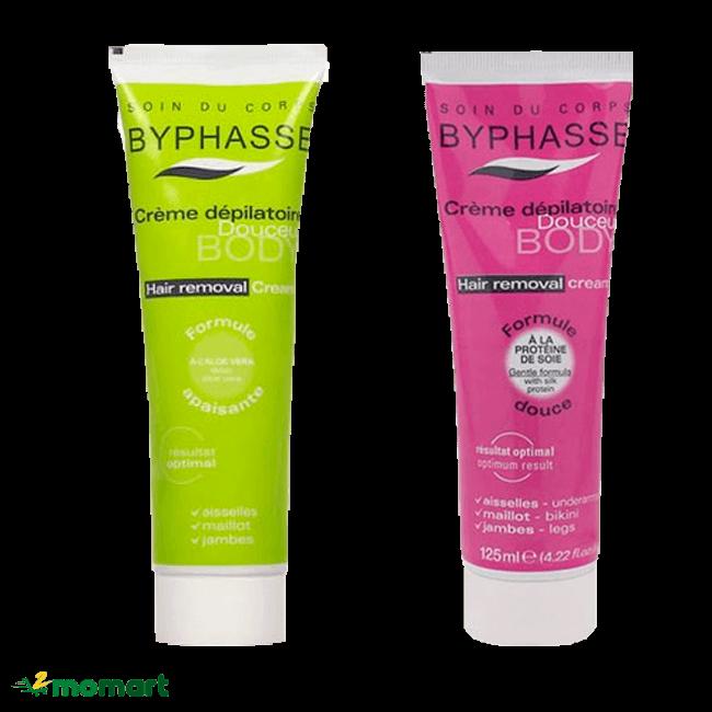 Kem tẩy lông Byphasse được yêu thích