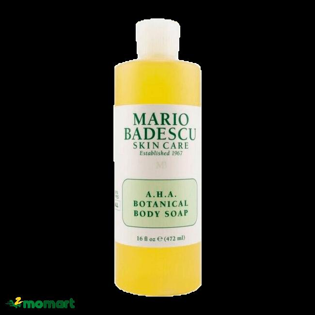 Mario Badescu A.H.A Botanical Body Soap tắm sạch dịu nhẹ da