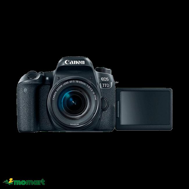 Máy ảnh Canon 77D + Lens 18-55mm IS STM cao cấp