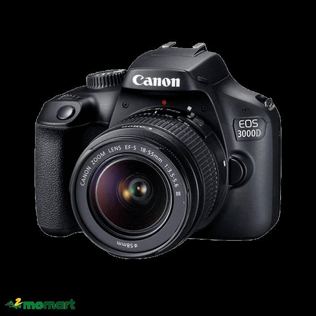 Máy ảnh Canon EOS 3000D Lens EF-S 18 - 55mm III chất lượng