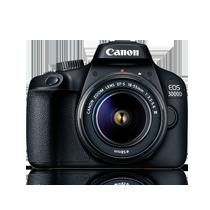 Máy ảnh Canon EOS 3000D Lens EF-S 18 - 55mm III tốt