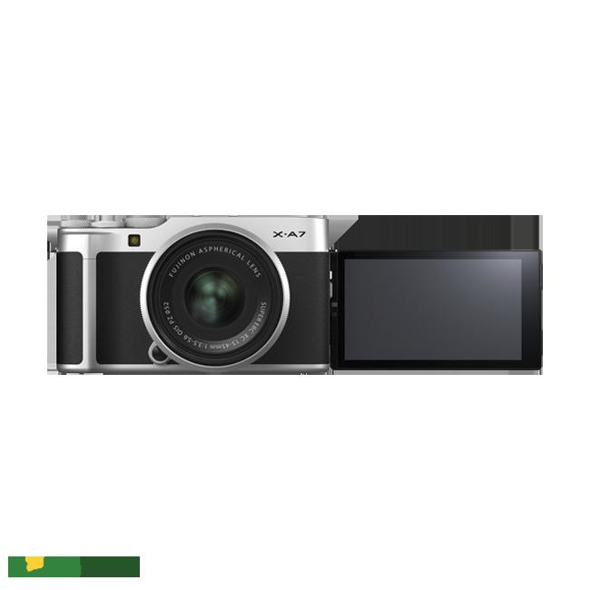 Máy ảnh Fujifilm X-A7 + Lens 15-45mm sắc nét