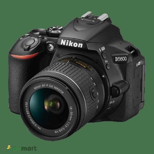 Máy Ảnh Nikon D5600 chụp nghiêng trái