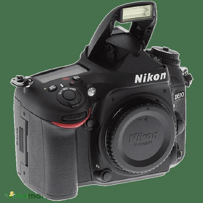 Góc phải của máy ảnh Nikon D610