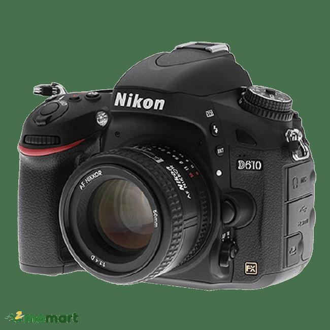 Góc trái của máy ảnh Nikon D610