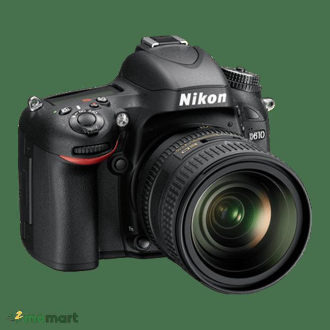 Thiết kế của máy ảnh Nikon D610