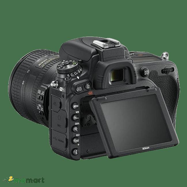 Đằng sau của máy ảnh Nikon D750