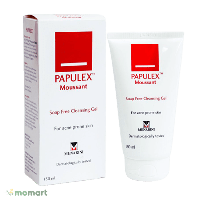 Thiết kế của Papulex Moussant Soap Free Cleansing Gel