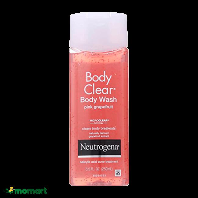 Sữa tắm Neutrogena giúp giảm thâm mụn sưng