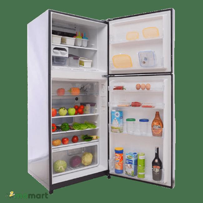 Ngắn chứa của tủ lạnh Hitachi Inverter 335 lít R-VG400PGV3 GBK