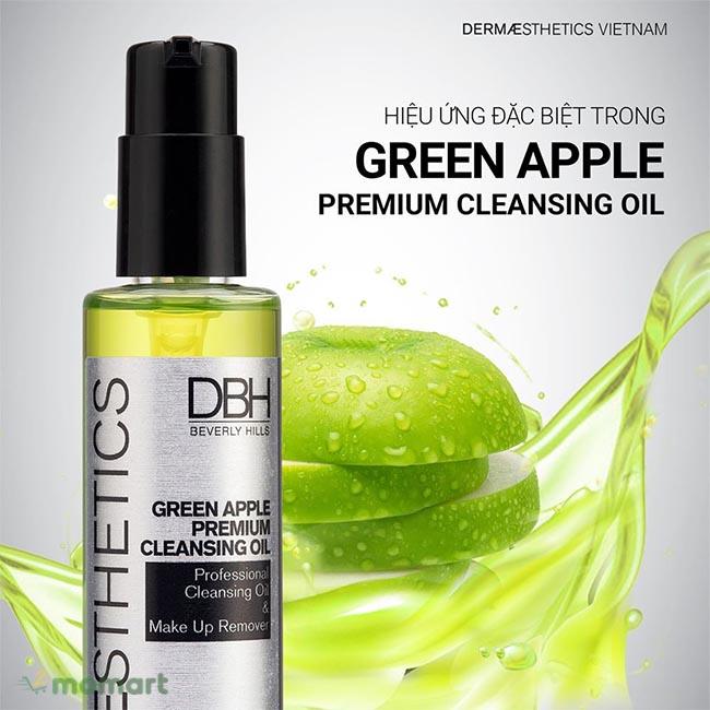Thành phần của DBH Green Apple Premium Cleansing Oil