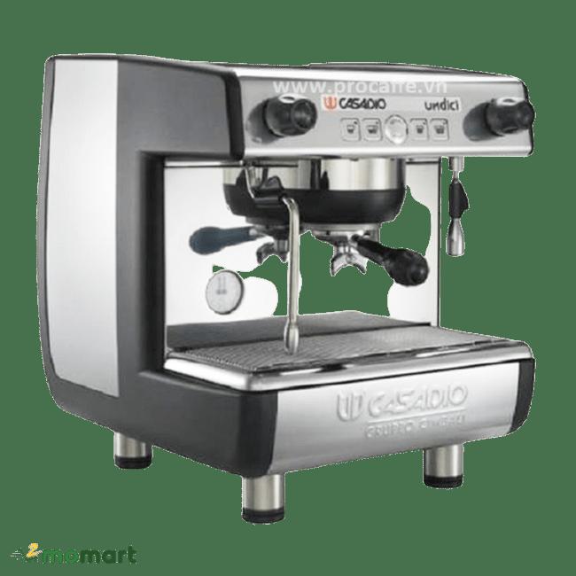 Máy pha cà phê Casadio Undici A1 chụp nghiêng phải