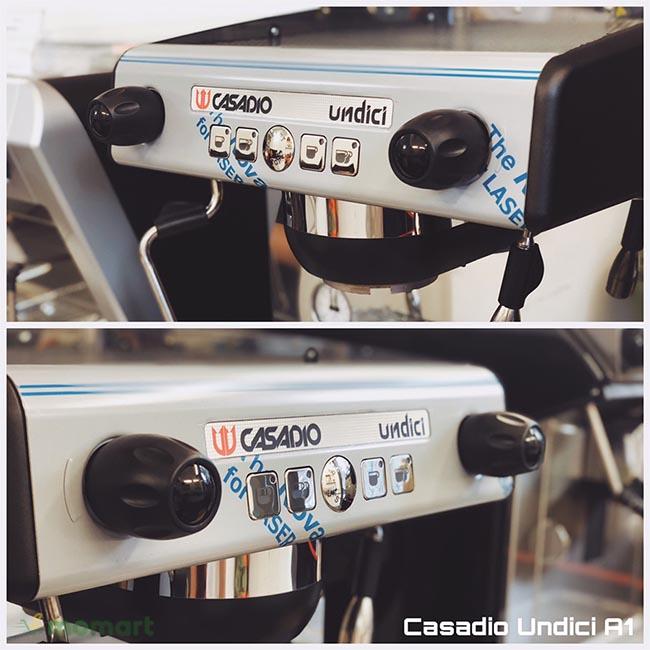 Máy pha cà phê Casadio Undici A1 nút điều chỉnh
