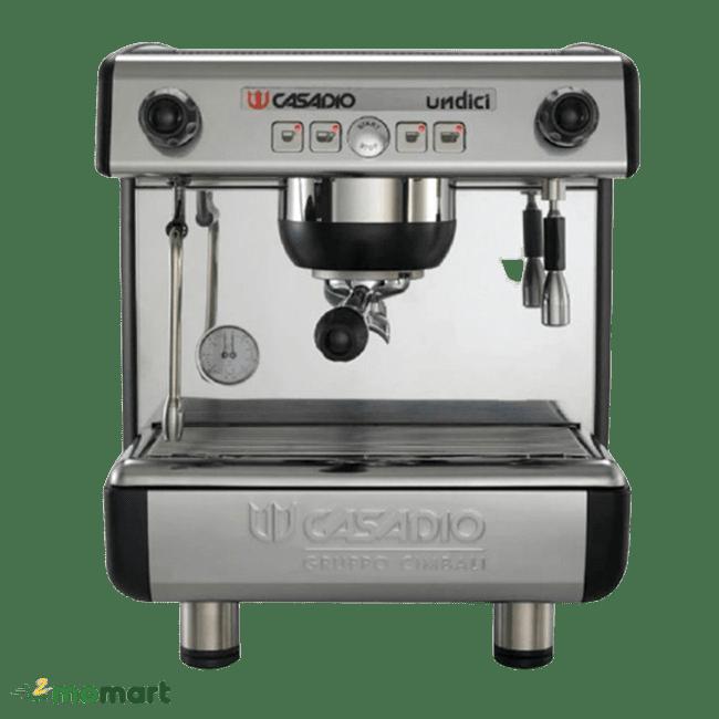 Máy pha cà phê Casadio Undici A1 chụp trực diện