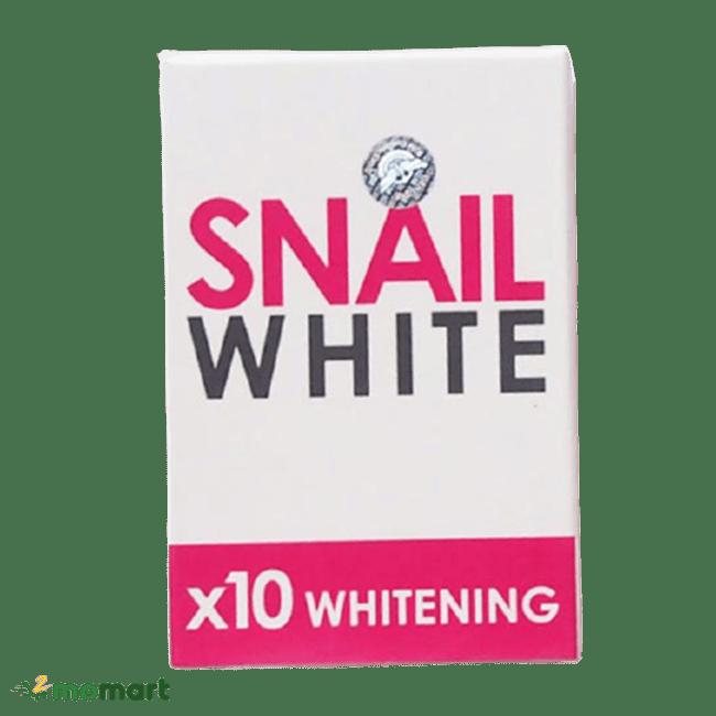 Hộp đựng xà phòng Snail White