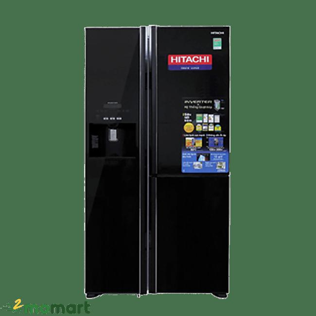 Chụ trực diện tủ Lạnh Hitachi R-M700GPGV2