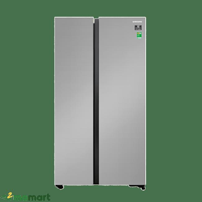 Tủ Lạnh Samsung RS62R5001M9/SV chụp trực diện