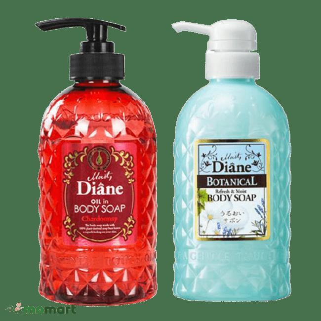 Bộ Combo sữa tắm Moist Diane Body Soap