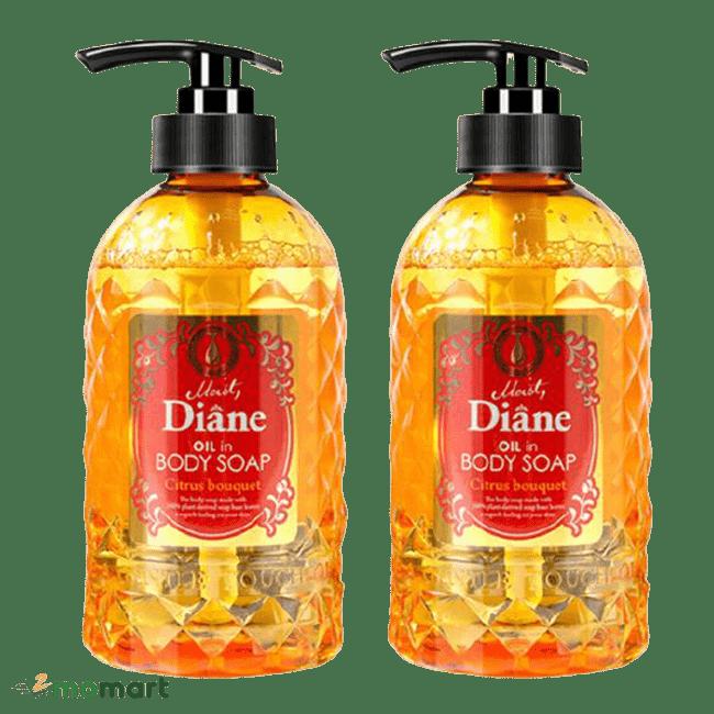 Combo sữa tắm Moist Diane Body Soap vàng