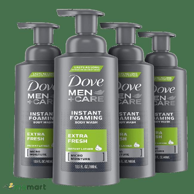 Chai lớn Dove Men Care Extra Fresh
