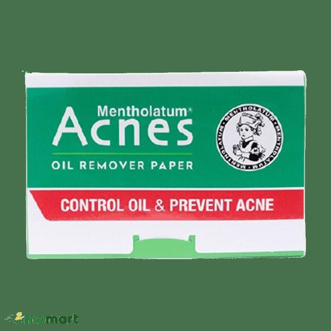 Sản phẩm giấy thấm dầu Acnes