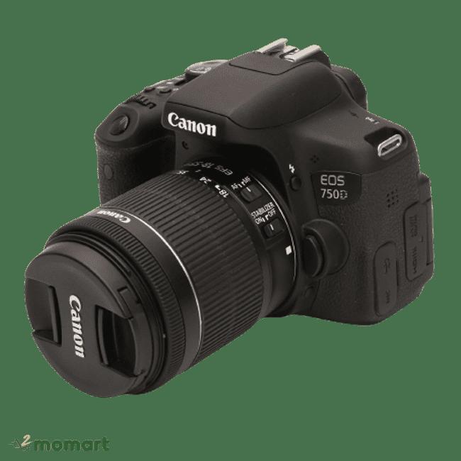 Máy ảnh Canon 750D hiện đại