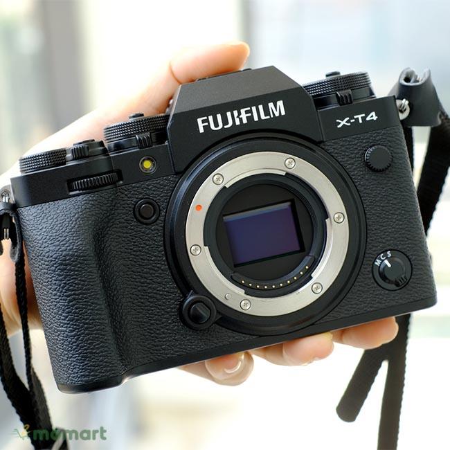 Hình thật của máy ảnh Fujifilm X-T4