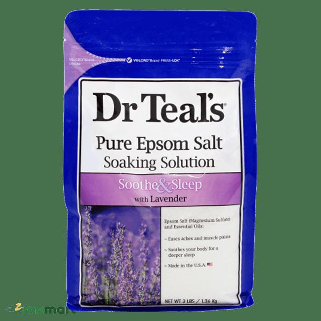 Muối Epsom Dr Teals hương valender