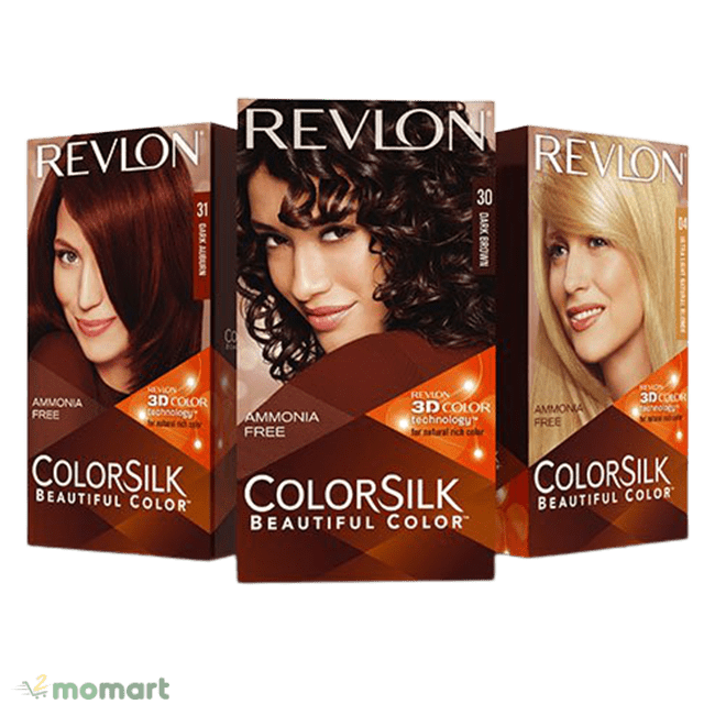 Các màu của Revlon Colorsilk Beautiful Color