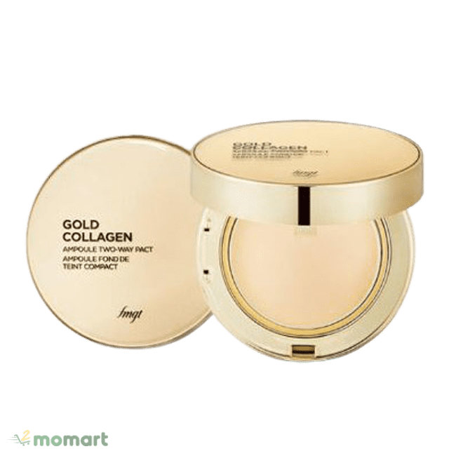 The Face Shop Gold Collagen Ampoule Two-Way Pact an toàn
