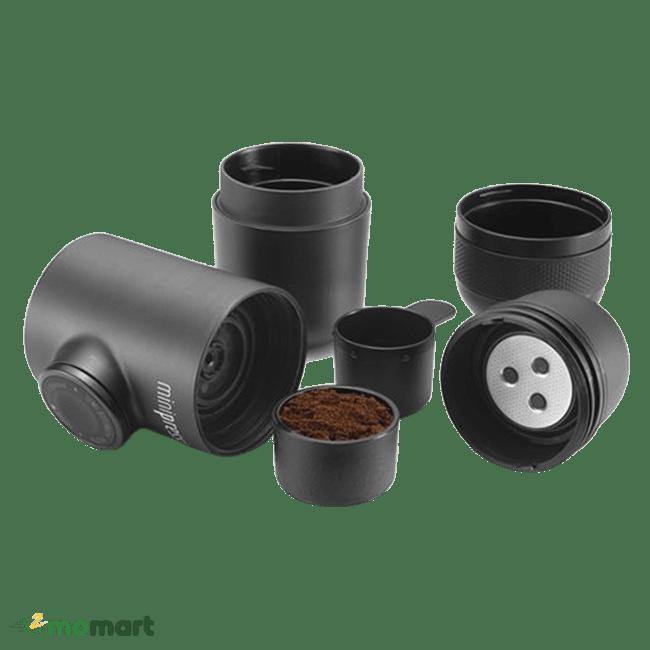 Các bộ phận của WACACO Minipresso GR