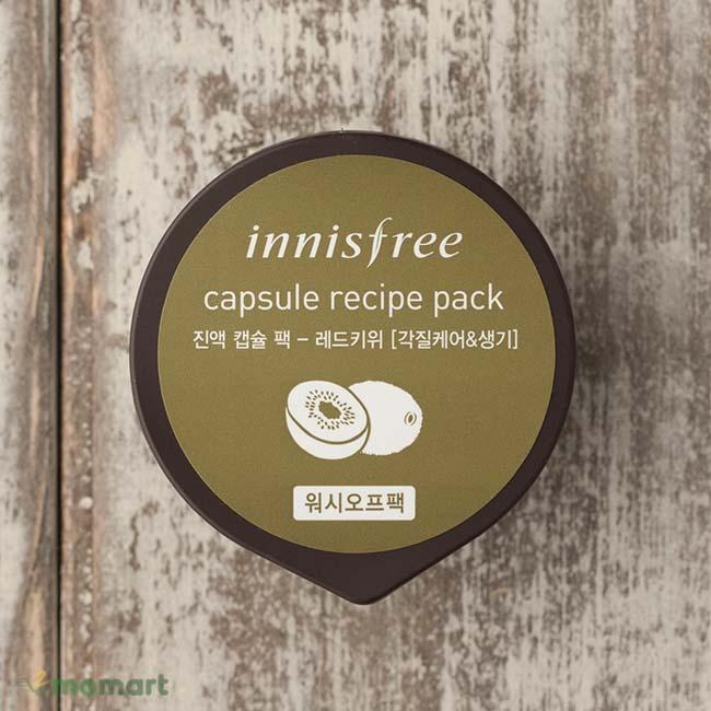 Mặt nạ Innisfree Capsule Recipe Pack màu nâu
