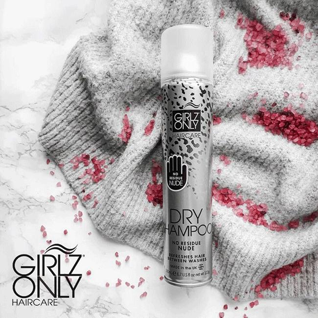 Dầu gội khô tóc nhanh Girlz Only Dry Shampoo