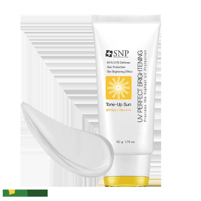 Kem chống nắng SNP UV Perfecting Brightening Tone Up Sun được ưa chuộng nhất