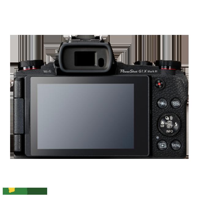 Máy ảnh Canon PowerShot G1 X Mark III thiết kế sang trọng, tinh tế