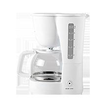 Máy pha cà phê Electrolux ECM1303W thiết kế đơn giản nhưng bắt mắt