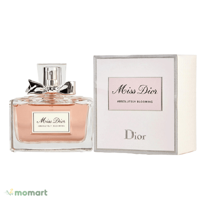 Bao bì của Miss Dior Absolutely Blooming