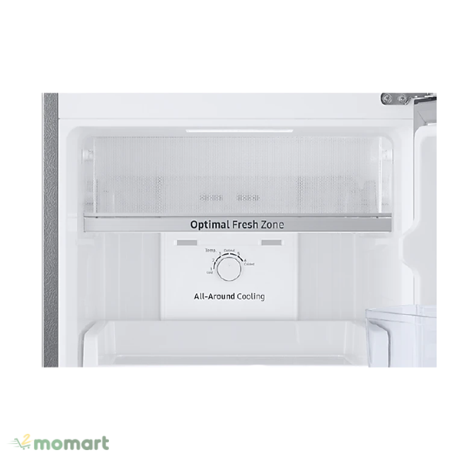 Ngăn đông mềm Optimal Fresh Zone của Tủ lạnh Samsung Inverter 256 lít RT25M4032BY/SV