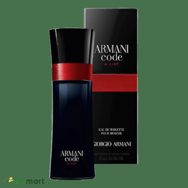 Nước hoa nam Giorgio Armani Code màu đỏ
